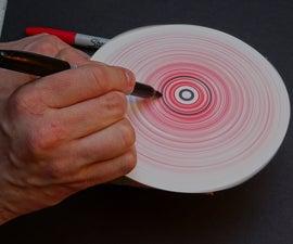 Pound shop spin art machine