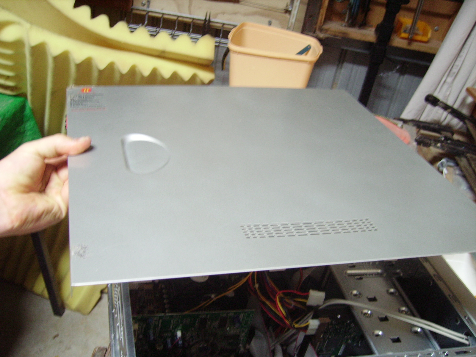 Picture of Removing the Power Supply From a Computer Case