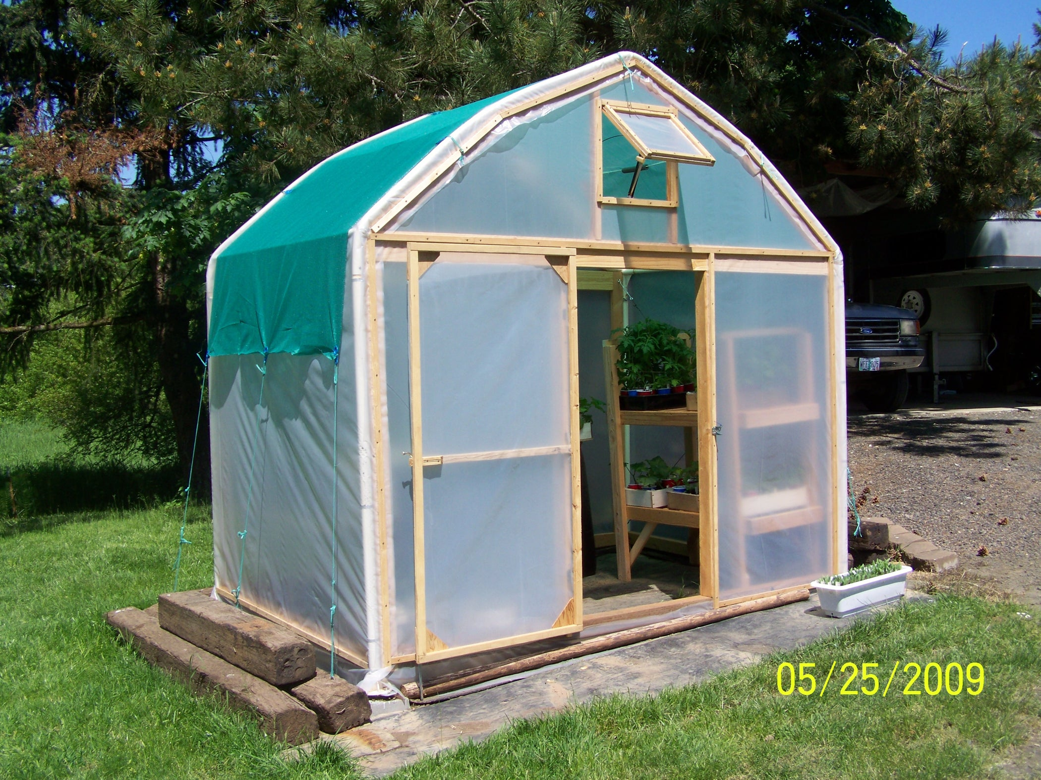 Make a Greenhouse From an Old Carport: 10 Steps (with Pictures)