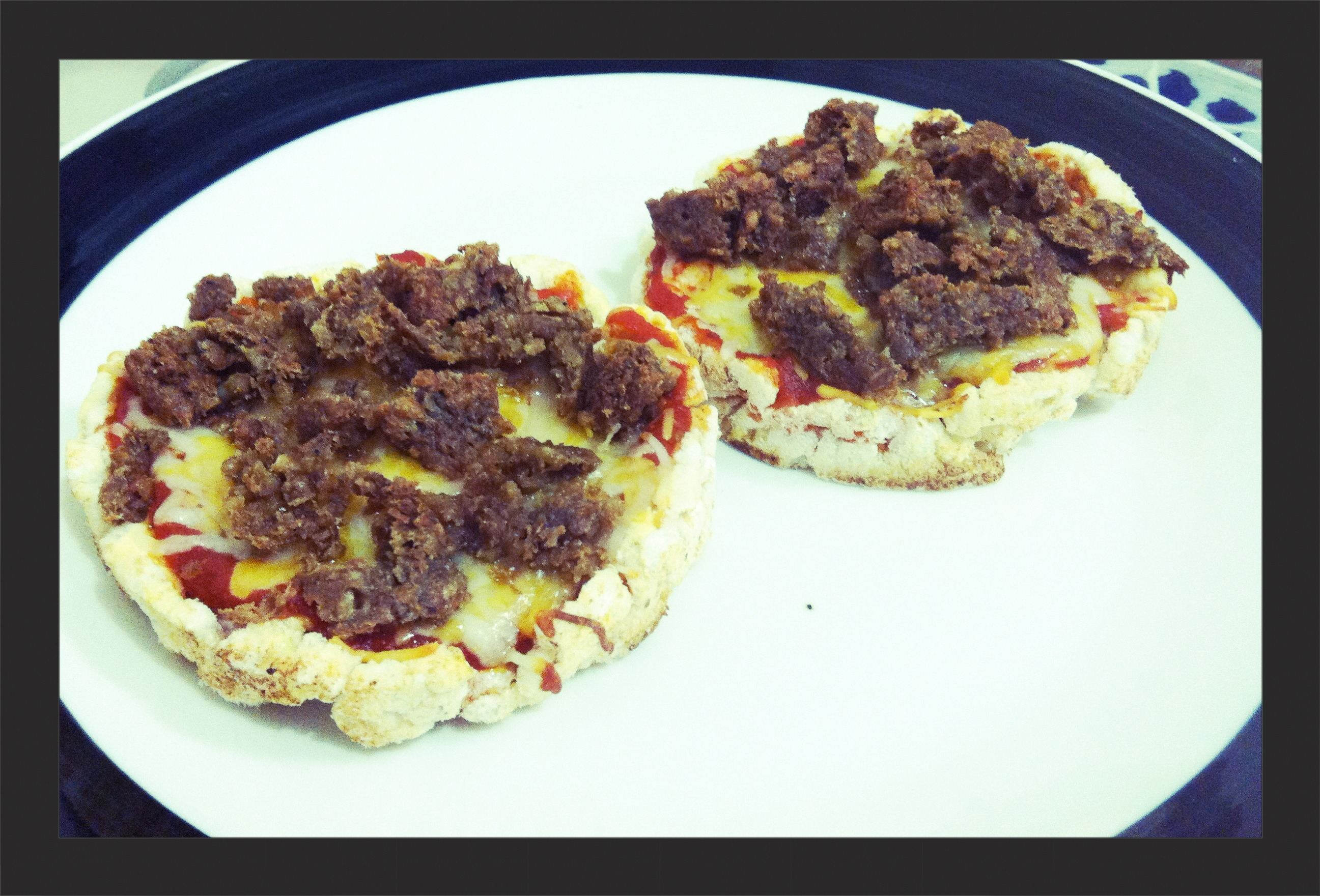 Picture of Healthy Rice Cake Pizza
