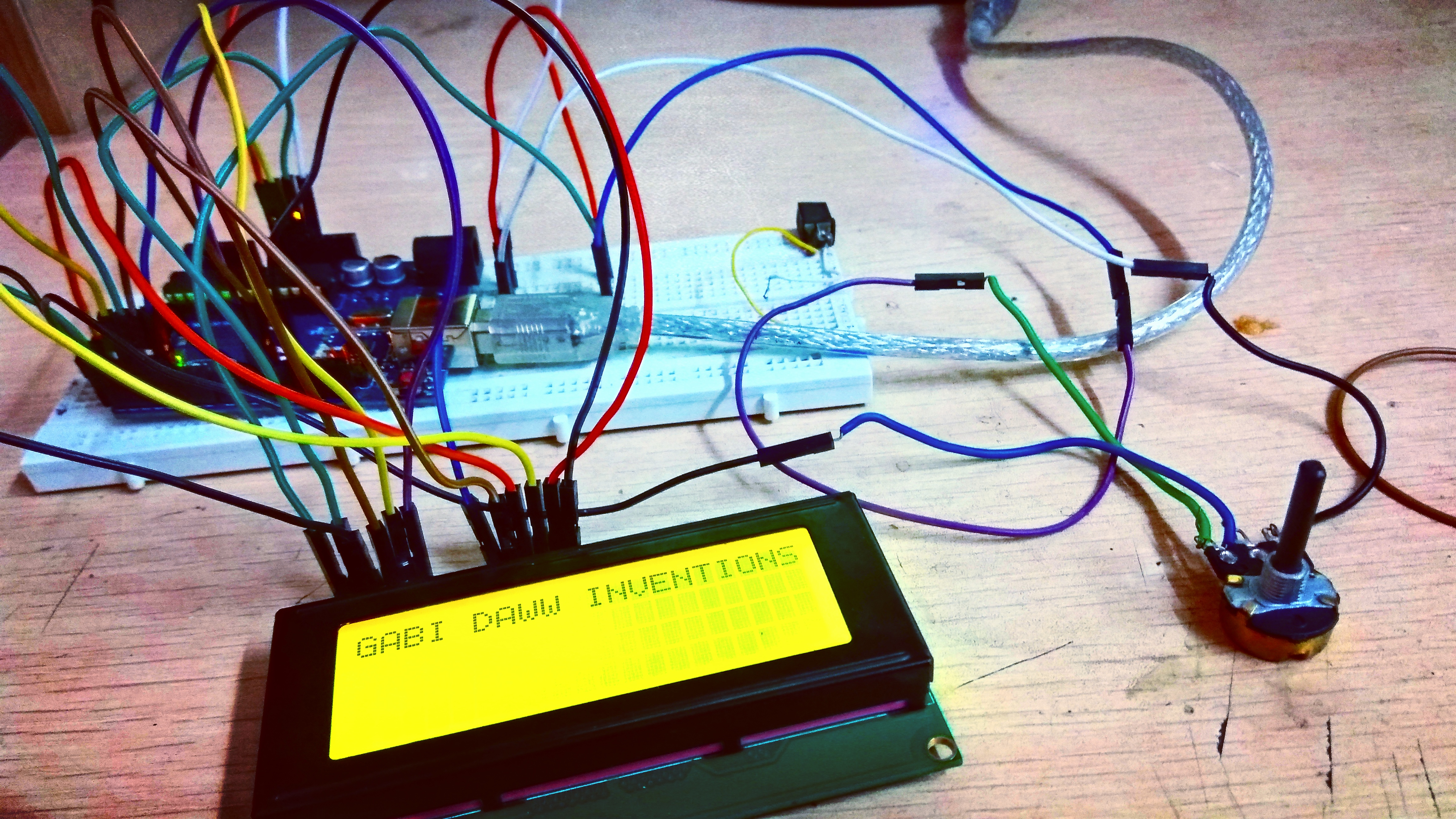 Picture of Arduino LCD Display
