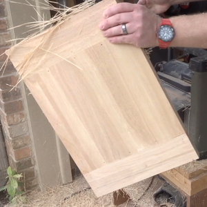 Flatten the Top of the Stool