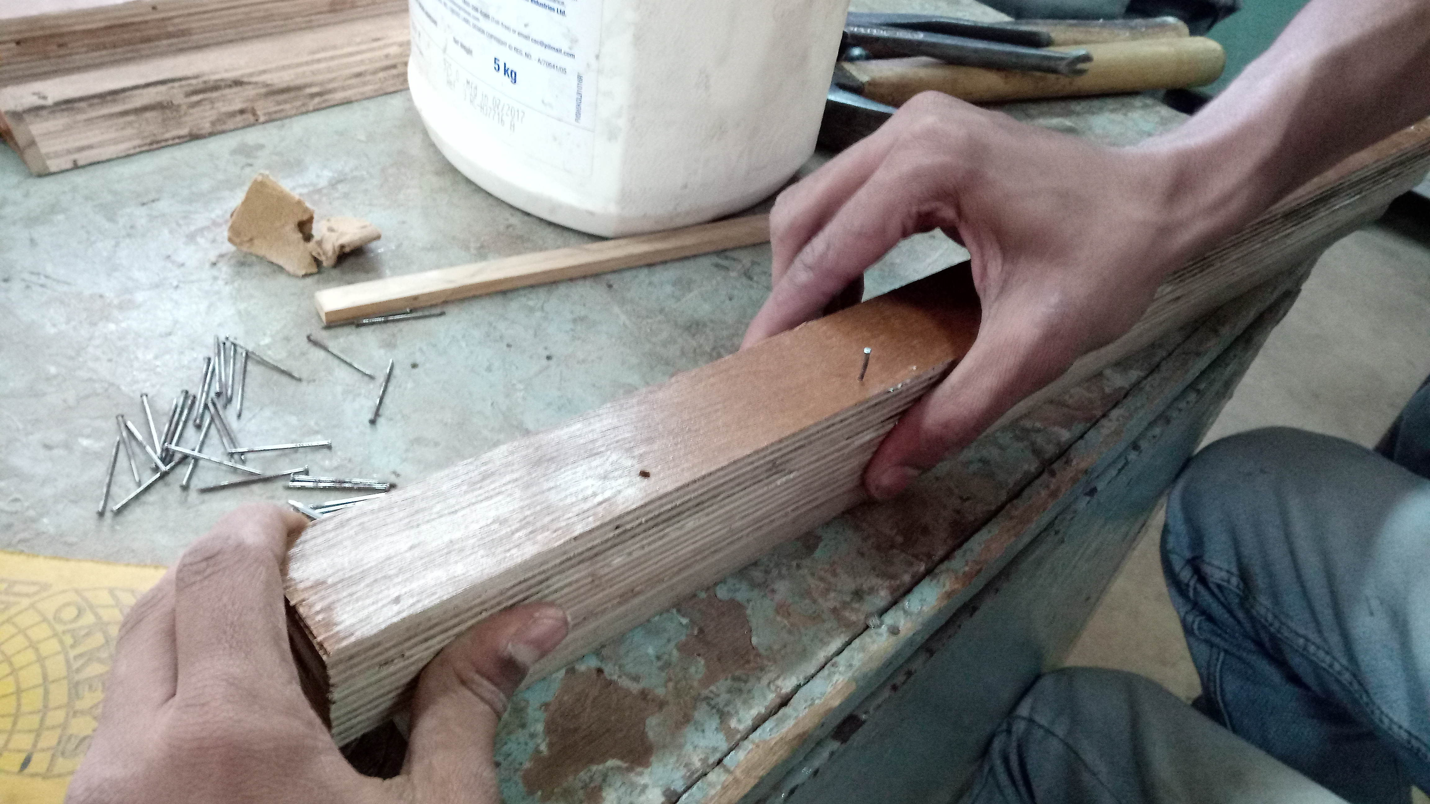 Picture of French Cleat: Sticking to the Dowel