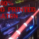 3D Printed BATON - 100% 3D Printed - Prints in ONE PRINT - ALREADY ASSEMBLED - SINGLE EXTRUDER - NO SUPPORTS