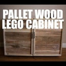 Pallet Wood LEGO Storage/Play Cabinet