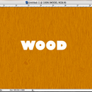 Make Realistic Wood in Photoshop (or GIMP)