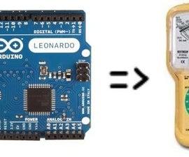 Secret Arduino Voltmeter