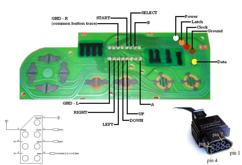 [DIAGRAM_4FR]  NES Bluetooth Controller. : 11 Steps (with Pictures) - Instructables | Nintendo Controller Wiring Diagram |  | Instructables