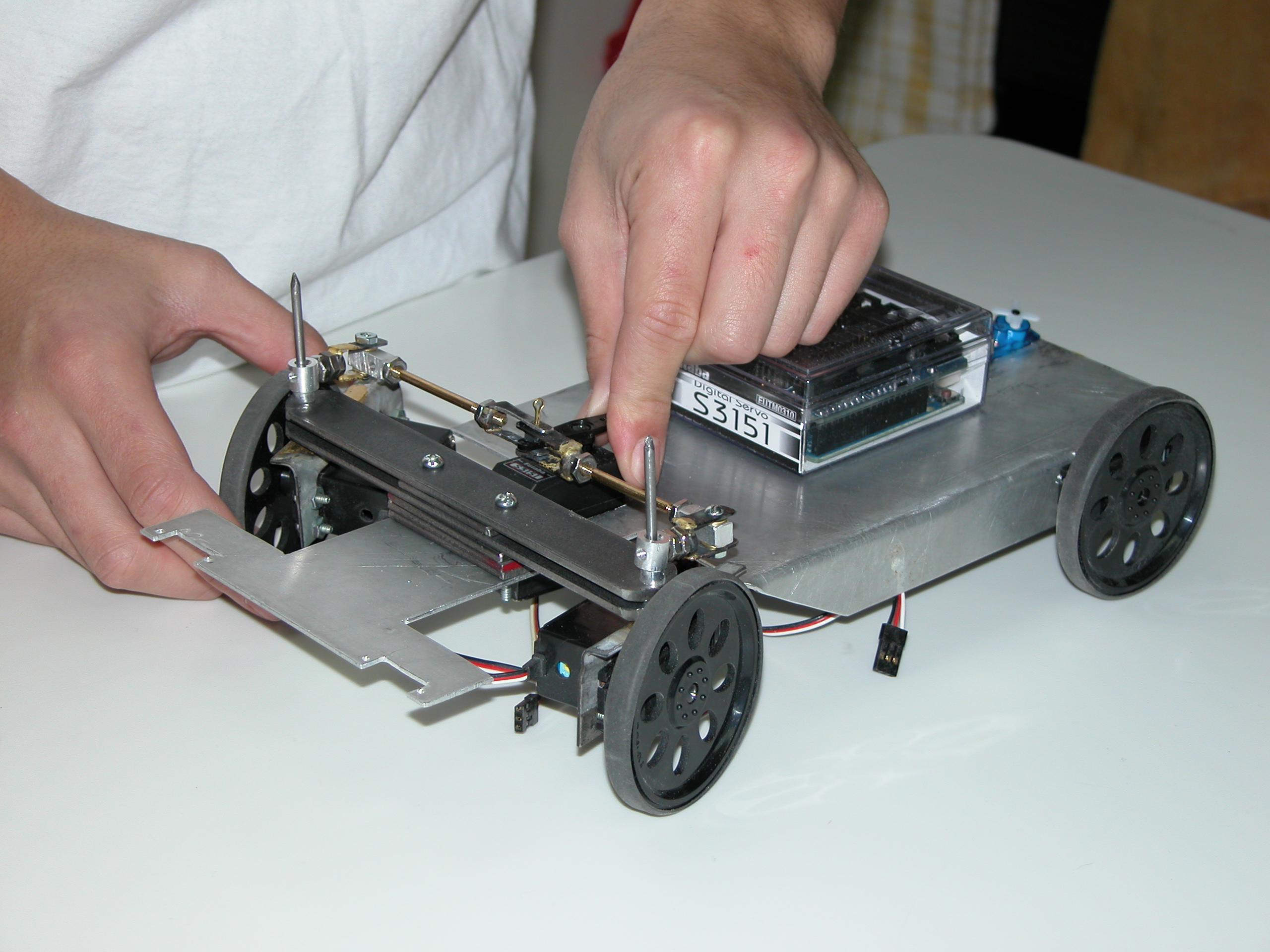 Picture of Assembling the Robot