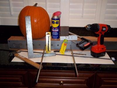 PUMPKIN AXLE PUNCH to Create Parallel Axle Holes for a Pumpkin Racer, Pumpkin Racing