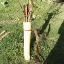 Wooden Arrow Quiver