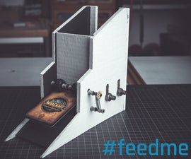 Card Feeder for a Trading Card Machine