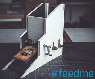 Card Feeder for a Trading Card Machine