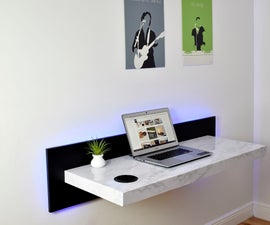 Wall Mounted Dream Desk