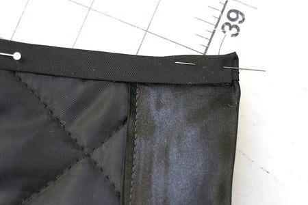 Bind Underarm and Armhole