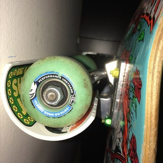 Rock Solid Skateboard Hanger From PVC Pipe