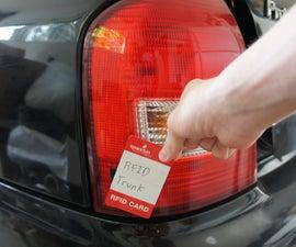 RFID Controlled Car Trunk
