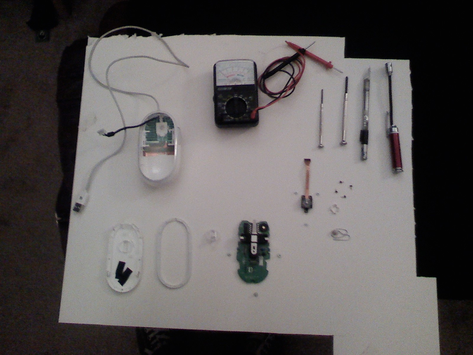 Picture of Tools and Completed Disassembly