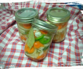 Summertime Pickled Veggies