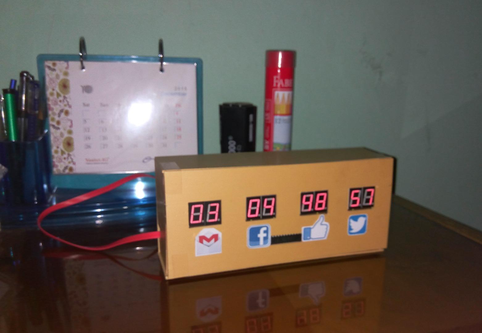 Picture of Raspberry Pi Desk Notifier