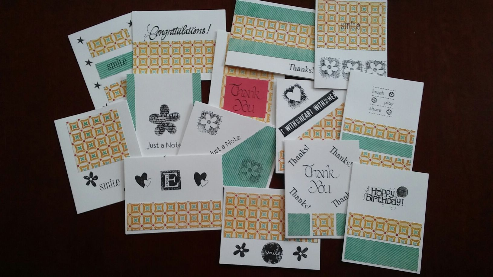 Picture of Greeting Cards, One Sheet Wonder