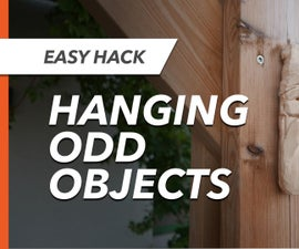 Easy Way to Hang Odd-shaped Objects on a Wall