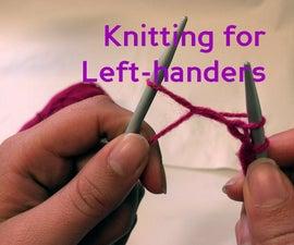 Knitting for Left-handers