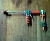 Picture of Small, Block Trigger, K'nex Gun