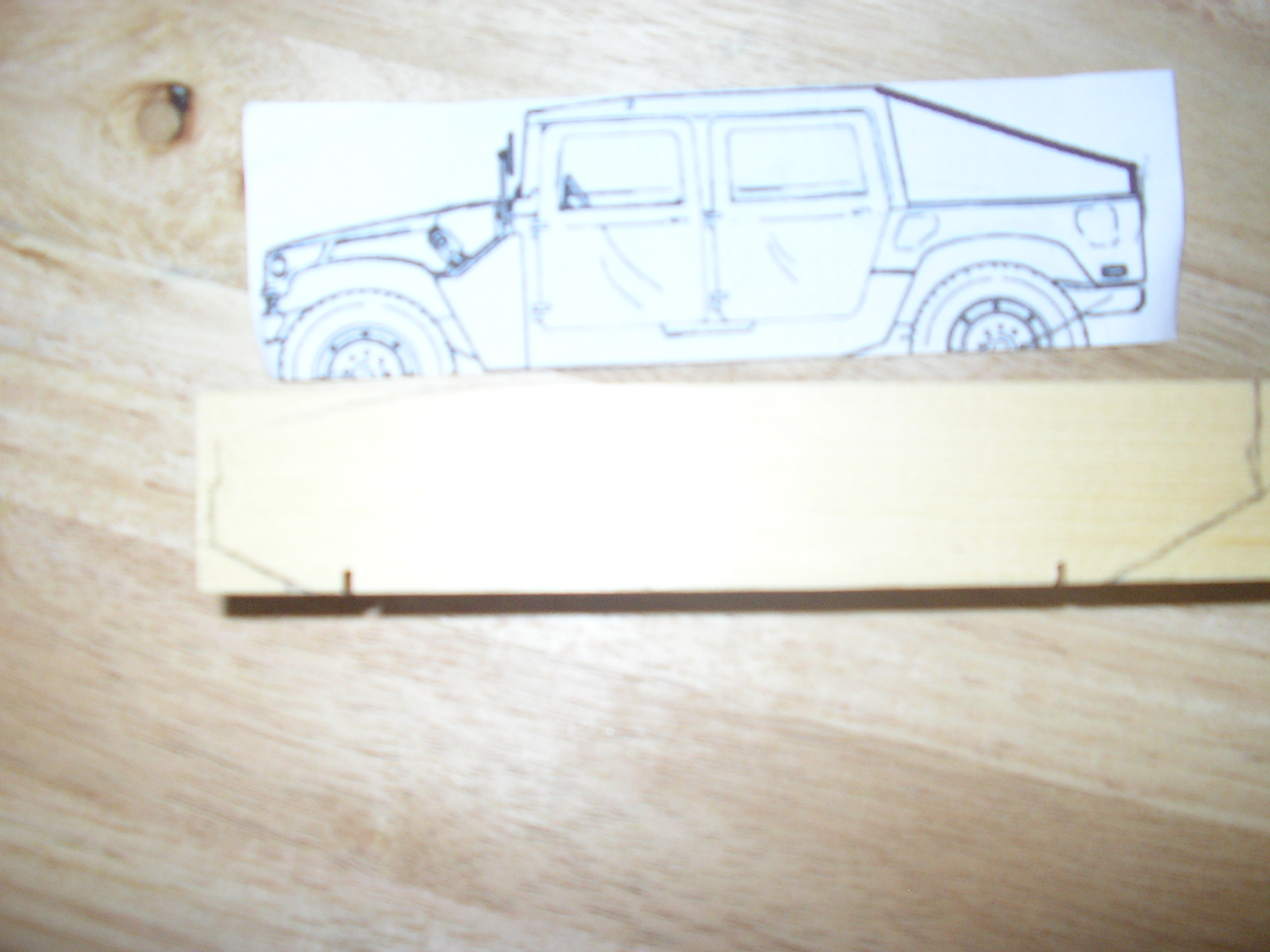 Picture of Transfering Your Design to Wood