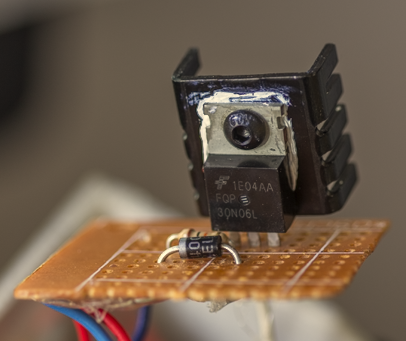 Picture of The Spindle Motor Driver