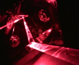 Music laser light show