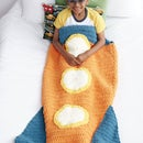 Rocket Ship Crochet Snuggle Sack