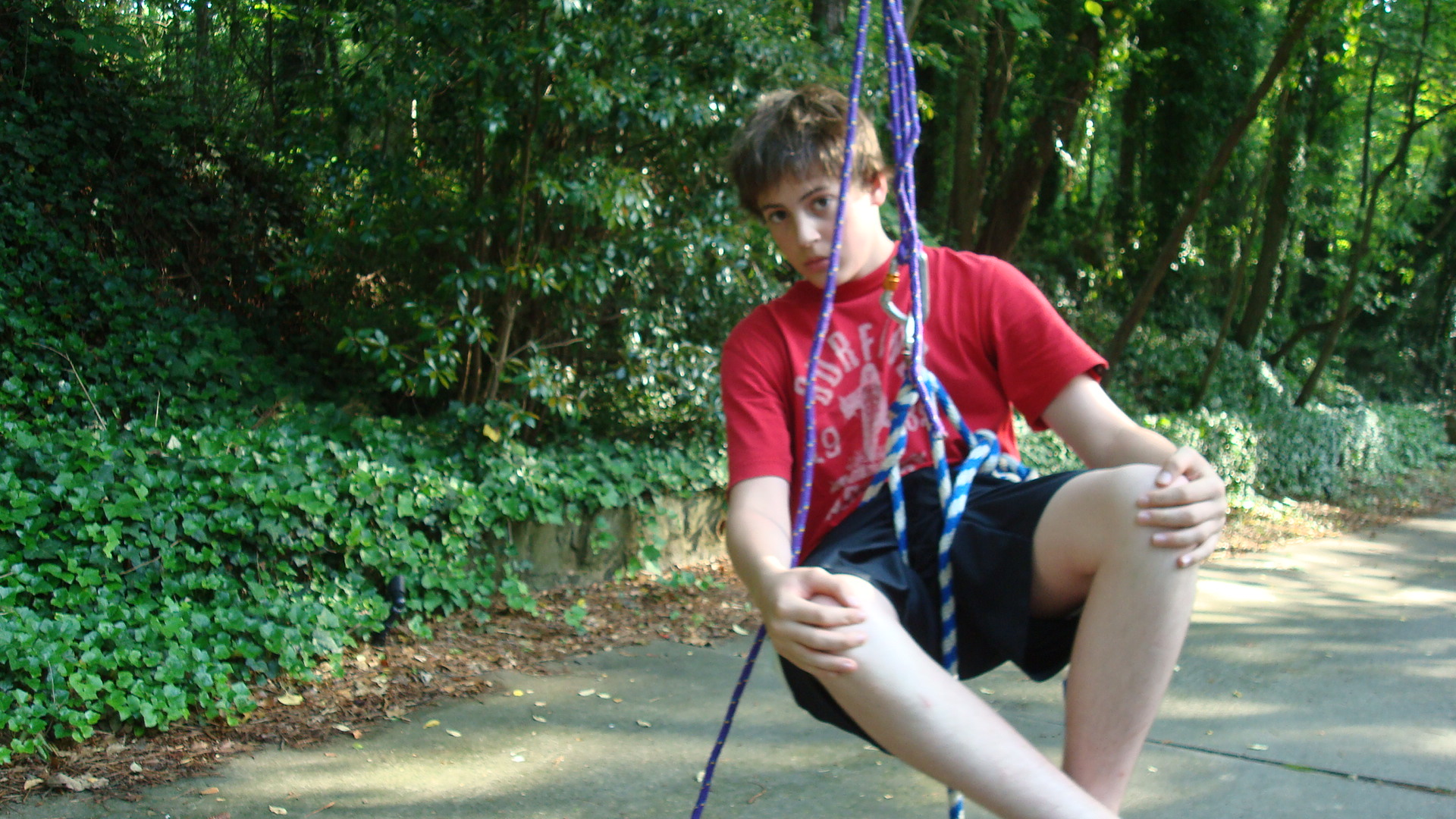 Picture of How to Climb a Tree (using Only Rope!) the Fun/simple Way