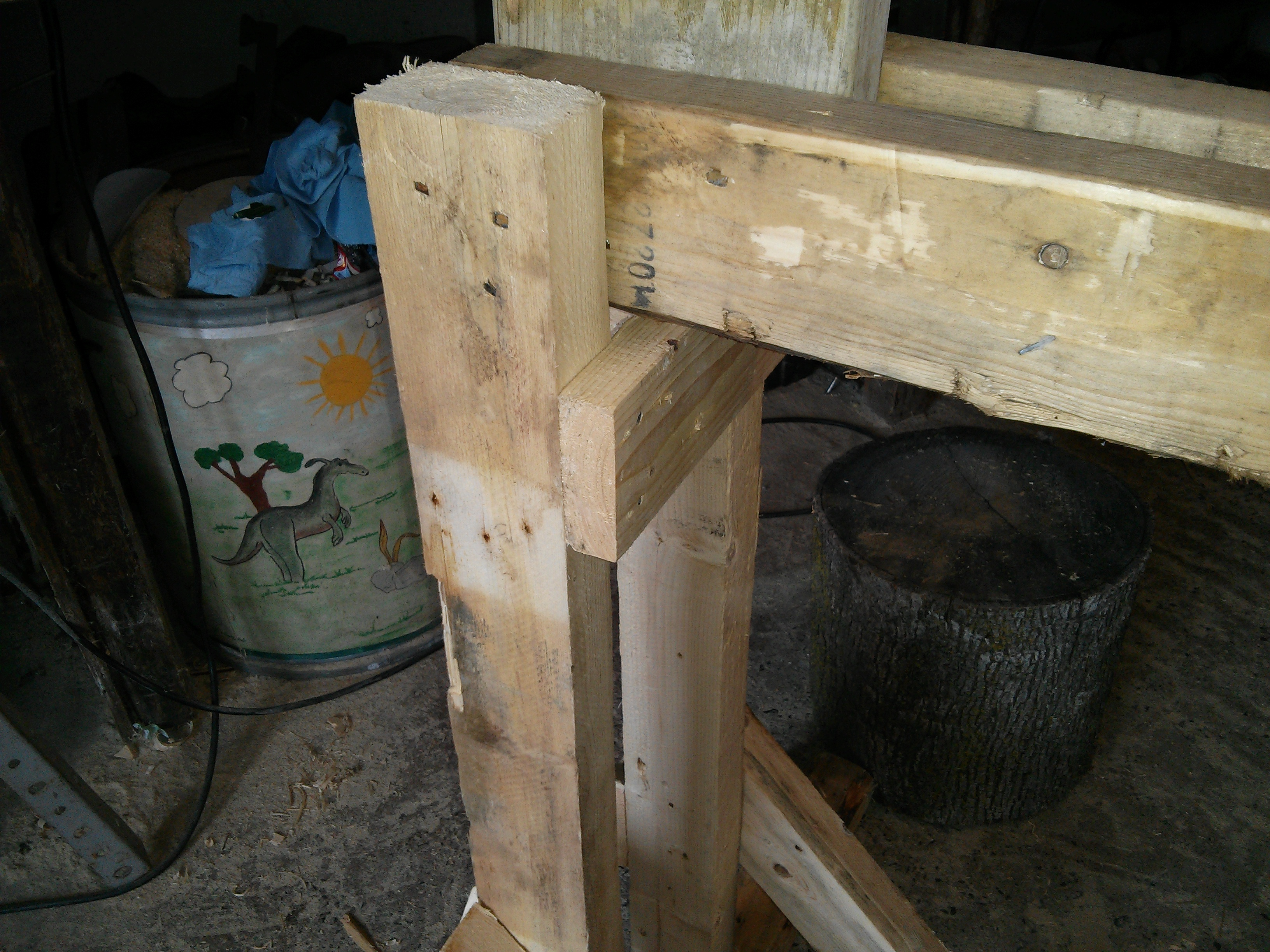 Picture of The Legs and Base