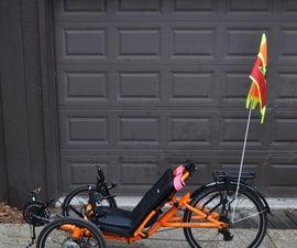 3D Print Your Own Bike Flag Illumination