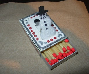Popup Holiday Matchboxes