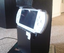 PSP Cardboard Arcade Stand