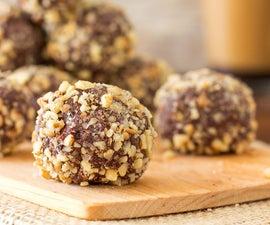 Walnut Dark Chocolate Truffles
