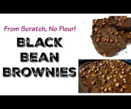 Black Bean Brownies From Scratch