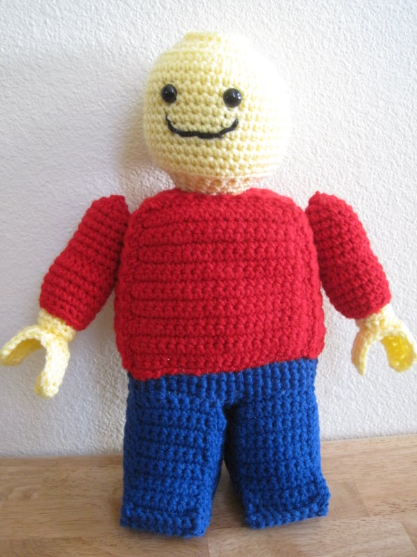 Amigurumi Lego Minifigure