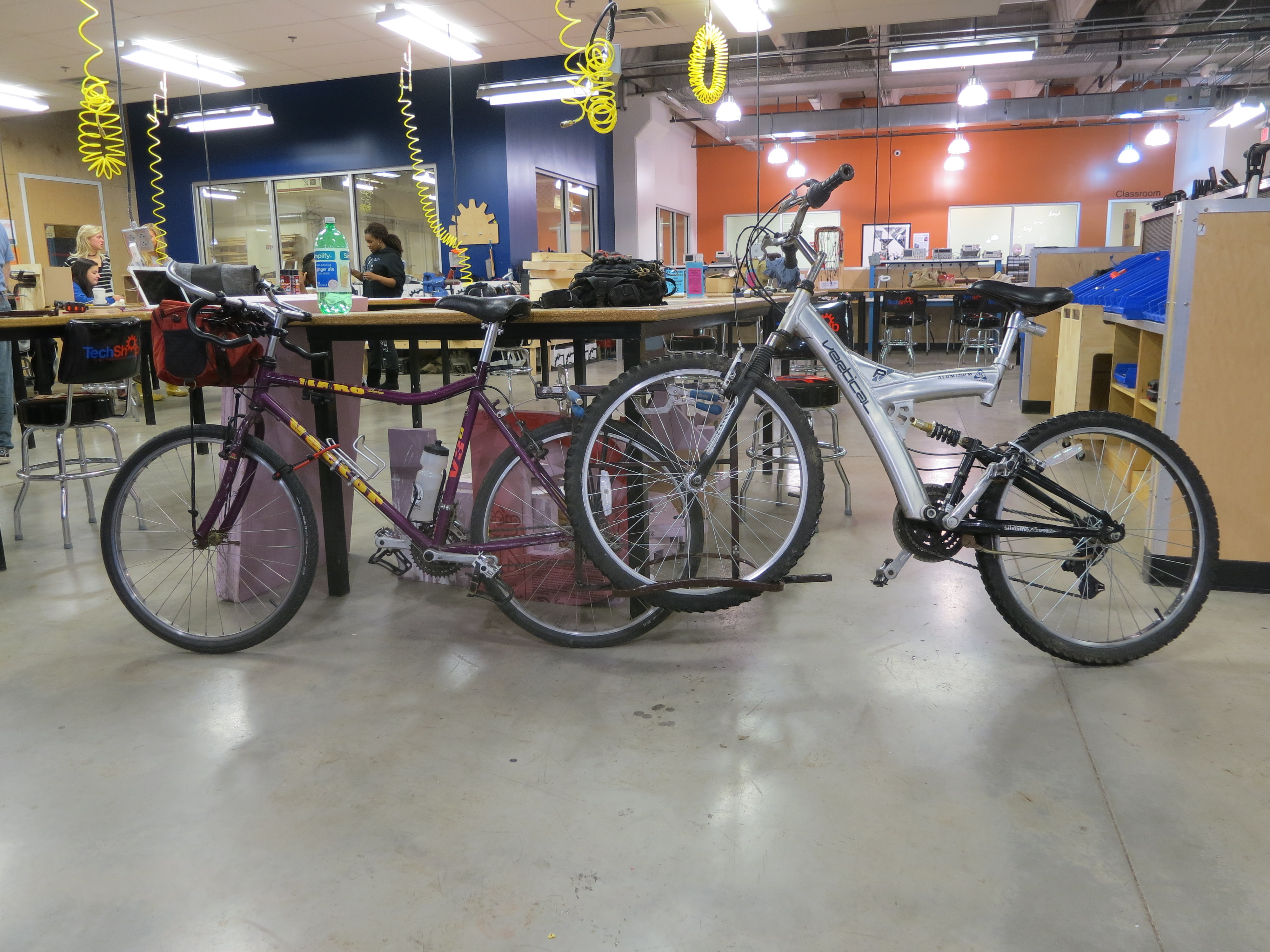 Picture of Bicycle Tow Rack - I Made It at TechShop!
