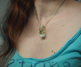 Holidays in a bottle pendants