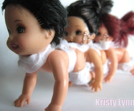 Human Centipede Doll