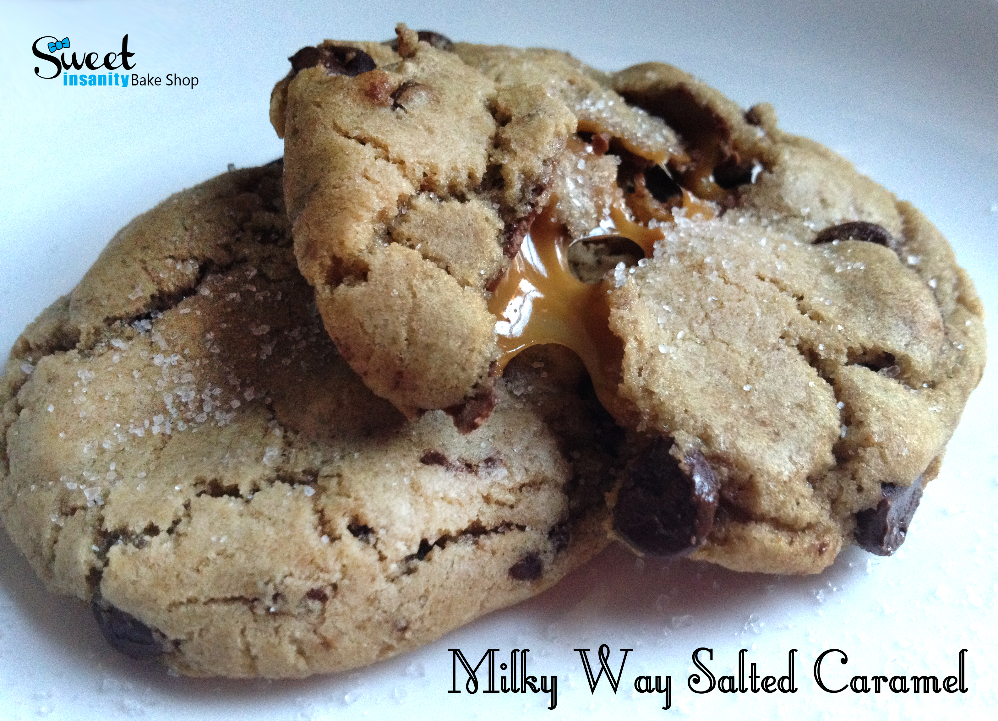 Picture of Milky Way Salted Caramel Cookies