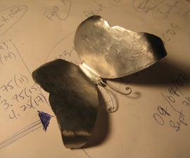 Simple Metalworking Techniques and Making a Steel Butterfly