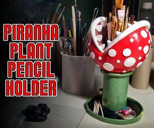 Piranha Plant Pencil Holder