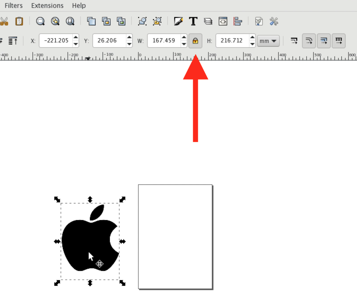 Picture of Creating a Vector in Inkscape