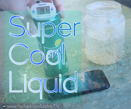 Chill Drink with SuperLiquid, Forget the ice