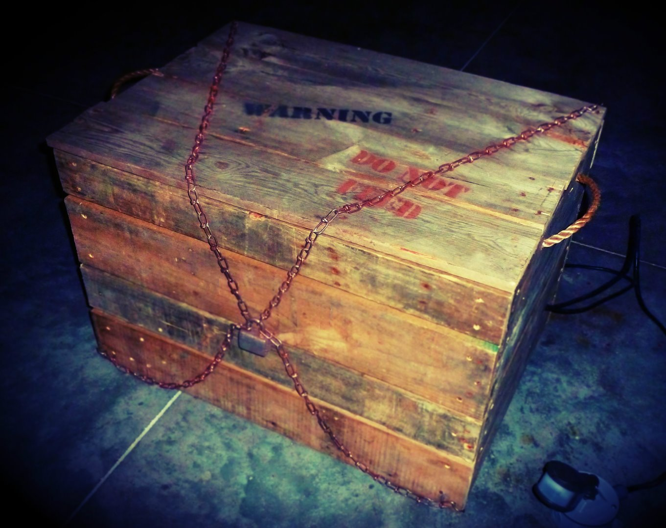 Picture of Monster in a Box, Haunted House Halloween Prop
