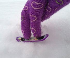 DIY Snowboard Fingerboard